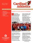 2011 Cardinal Athletics Vol. 5, Issue 1, Winter by Otterbein University