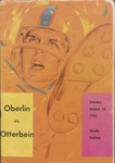 Oberlin vs. Otterbein 1962 Football Program by Otterbein College