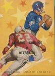 Otterbein vs Ashland 1962 Football Program by Otterbein College