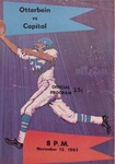 1965 Otterbein vs Capital Football Program