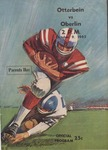 Otterbein vs Oberlin 1965 Football Program (Parents Day) by Otterbein College