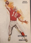 Otterbein vs. Kenyon 1962 Football Program