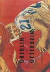 Oberlin vs. Otterbein 1964 Football Program by Otterbein College