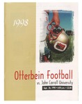 Otterbein vs John Carroll University 1998 Football Program by Otterbein University