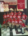 1999 Otterbein vs. Capital University Football Program by Otterbein College
