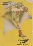 1964 Otterbein vs Wittenberg Football Program