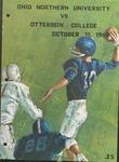 1969 Ohio Northern University vs Otterbein College Football Program