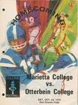 1970 Marietta College vs Otterbein College Football Program