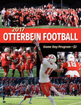 2017 Otterbein Football Game Day Program by Otterbein University