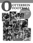 2011 Otterbein Football Game Day Program by Otterbein University