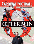 2018 Otterbein Football Game Day Program by Otterbein University