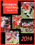 2014 Otterbein Football Game Day Program by Otterbein University