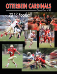 2013 Otterbein Football Game Day Program by Otterbein University
