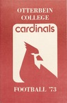 1973 Football Press Guide by Otterbein College