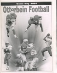 2001 Otterbein Football Game Day Program by Otterbein College