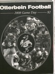 2008 Otterbein Football Game Day Program by Otterbein College