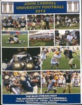2013 John Carroll University vs Otterbein University Football Program by Otterbein University