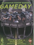 2014 Wilmington vs Otterbein Football Program