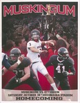2014 Muskingum vs Otterbein Football Program by Otterbein University