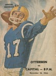 1963 Otterbein vs. Capital