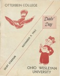 1963 Ohio Wesleyan vs. Otterbein Football Program