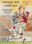 1969 Baldwin-Wallace vs. Otterbein College Football Program
