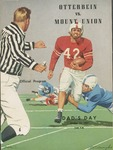 1957 Mount Union vs Otterbein Football Program