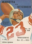 1955 Marietta vs Otterbein Football Program