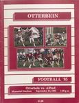 1985 Otterbein College vs Alfred University by Otterbein University