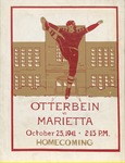 1941 Otterbein College vs Marietta College Football Program