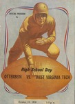 1950 Otterbein College vs West Virginia Tech Football Program