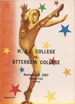 1957 Washington and Jefferson College vs Otterbein College Football Program