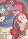 1971 Kenyon College vs Otterbein College Football Program