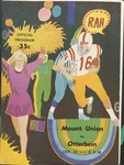 1970 Mount Union College vs Otterbein College Football Program