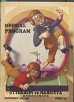 1939 Otterbein College vs Marietta College Football Program