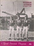 1968 Muskingum College vs Otterbein College Football Program