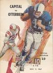 1967 Capital University vs Otterbein College Football Program