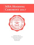 2017 Otterbein University MBA Hooding Ceremony