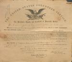 Civil War Certificate