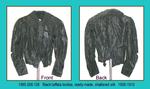 Bodice, Black Taffeta, Ready-made (38 label) by 008