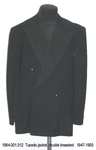 Jacket ,M, Tuxedo, Black, Double Breasted by 001