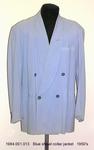 Jacket, M, Lt Blue, Shawl Collar by 001