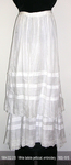 Petticoat, White Batiste, Embroidery by 002