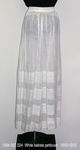 Petticoat, White Batiste, Tucks by 002