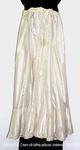 Petticoat, Cream Silk Taffeta, Dust Ruffle, Shattered by 008