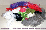Trims, Ostrich Feathers, Ribbons by 009