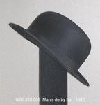 Hat, Male, Derby, Black by 010