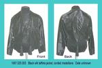 Jacket, Female, Black Taffeta, Corded Medallians by 025