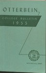 1955 Otterbein Bulletin by Otterbein University