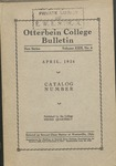 1926 April Otterbein College Bulletin